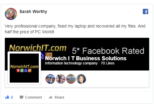 Norwich IT Review